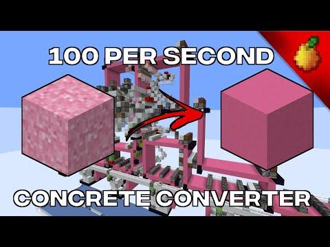 Extreme Concrete Converters (270/360k per hour)