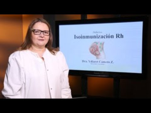 Isoinmunización Rh. Ponencia De La Dra. Ydiaret Camero