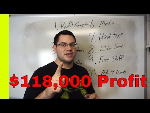 10 Lessons I Learned Making $118,000 Profit Selling Items From Thrift Stores - Amazon FBA Tips