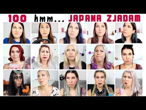 Wszystkie hmm z JAPANA zjadam! - JAPANA zjadam #100,5   Agnieszka Grzelak Vlog