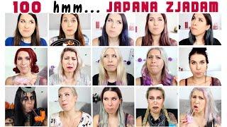Wszystkie hmm z JAPANA zjadam! - JAPANA zjadam #100,5 | Agnieszka Grzelak Vlog