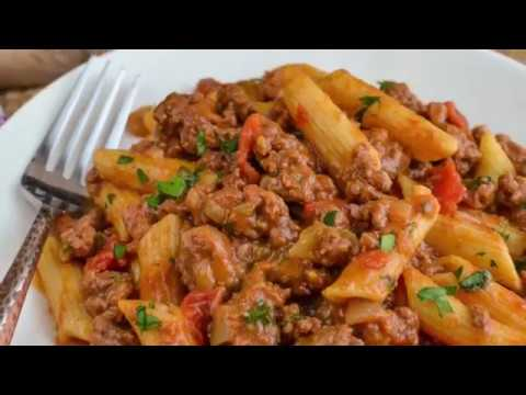 Syn Free One Pot Cheeseburger Pasta Slimming World Recipes Youtube
