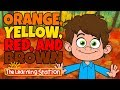 Orange, Yellow, Red and Brown - Seasons Songs for Kid - Kids Color Songs - By The Learning Station