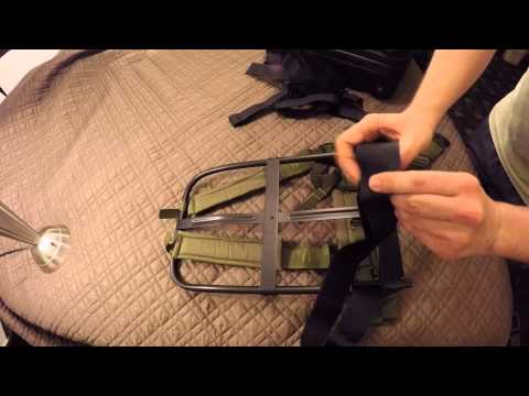 Rig An ALICE BackPack To Carry Large Loads