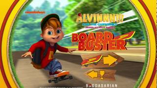 Alvin and the Chipmunks: Board Buster - Skateboard