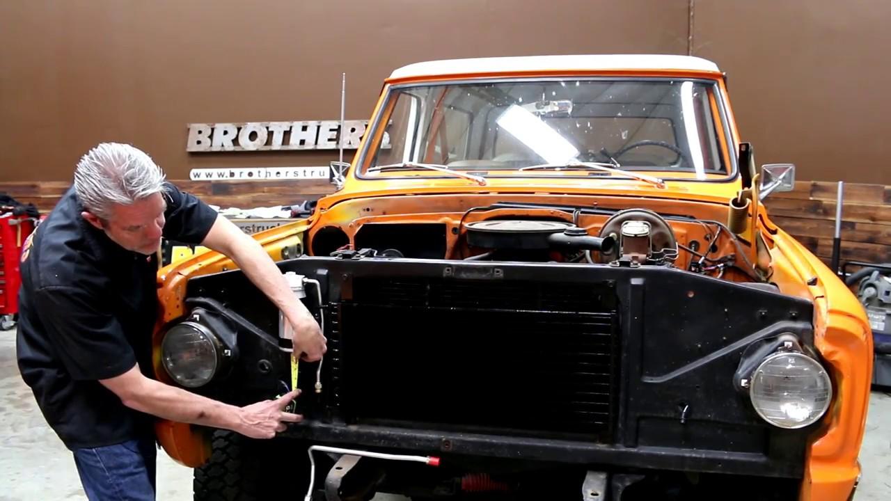 classic chevy gmc truck ac heater installation [ 1280 x 720 Pixel ]