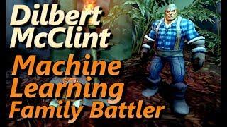 Dilbert McClint Machine Learning Family Battler All Mechanical Pets