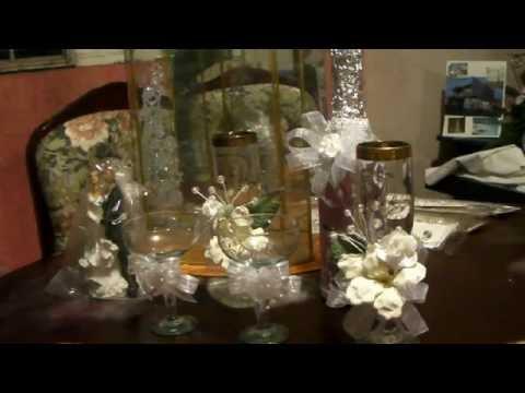 Como decorar unas copas para boda youtube - Como decorar copas para boda ...