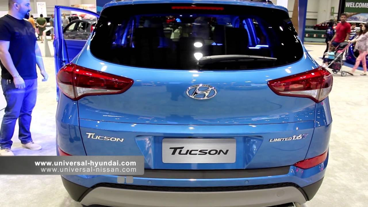 2017 Hyundai Tucson Limited 1 6 Turbo And Accent 2016 Car Show You