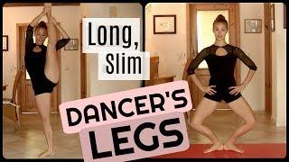 Follow- Along Exercises for Long Slim Dancer's LEGS