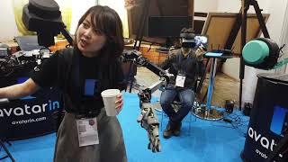 ANAのアバター「newme」で技の伝承@CEATEC -Impress Watch