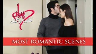 Pyar Lafzon Main Kahan | 10 Most Romantic Scenes HAYAT | MURAT