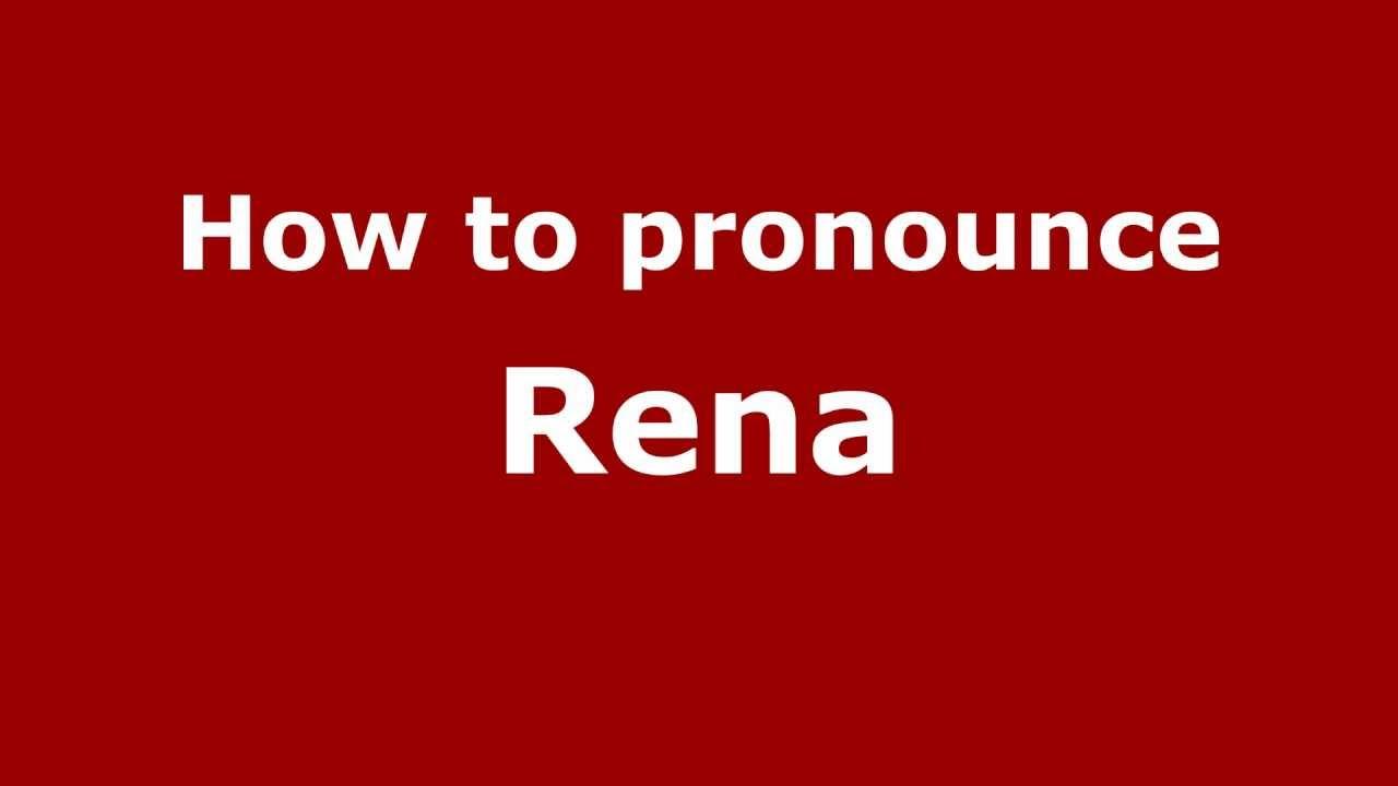 Rena Name