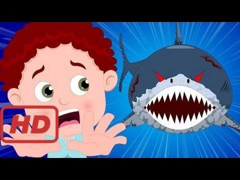 Songs for kids |  Schoolies | Scary Shark | Nursery Rhymes | Kids Songs | Stories of the shark