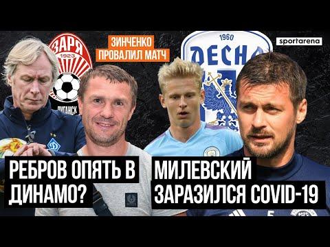 Ребров вернется в Динамо? Милевский заразился коронавирусом   Зинченко провалил матч