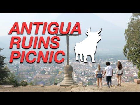 ANTIGUA RUINS PICNIC TOUR: OX-cultural bike tour, Antigua, Guatemala.
