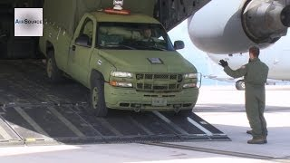 U.S. Military Contingency Response Group Boards C-17 - Operation Damayan