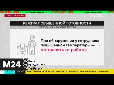 Видео: В Москве подтверждено еще 5 случаев коронавирусной инфекции - Москва 24
