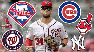 These Teams MUST Sign Bryce Harper - 2019 MLB Free Agency