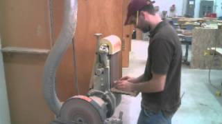 Making A Perfect Circle With A Belt Sander