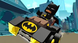 Colorful Game   LEGO INCREDIBLES  BATMAN Chases CATWOMAN, Funny Cars Racing  Gotham City, Kid Colors