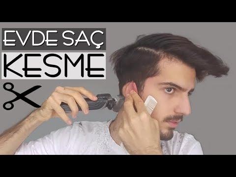 Evde Saç Nasıl Kesilir ? │ Erkek Saç...