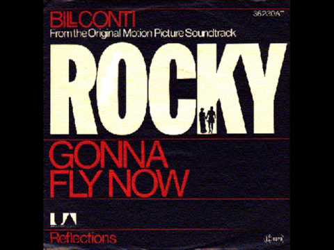 Bill Conti  Gonna Fly Now Instrumental, Rocky Ost 1977