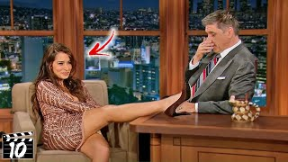 Top 10 Celebrities Who Destroyed Their Careers On Talk Shows