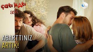 Demir ve Ateşin Karı Koca Rolü - Çatı Katı Aşk 10.Bölüm