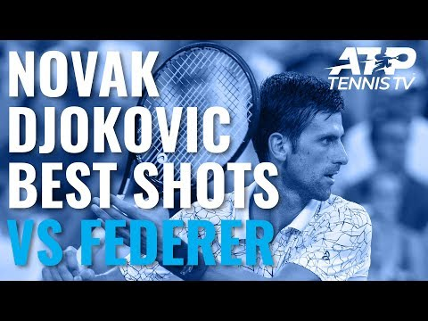 Novak Djokovic Best ATP Points vs Federer