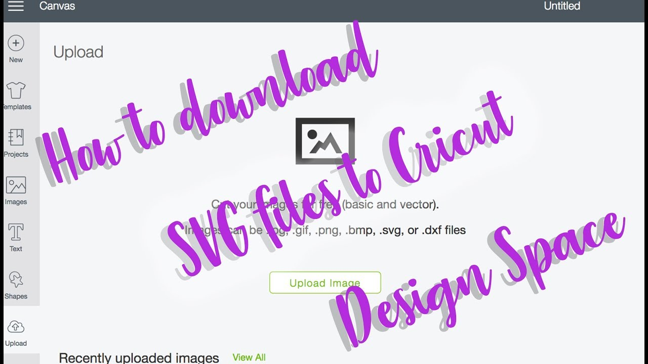 Download How to download SVG files and upload them to Cricut Design ...