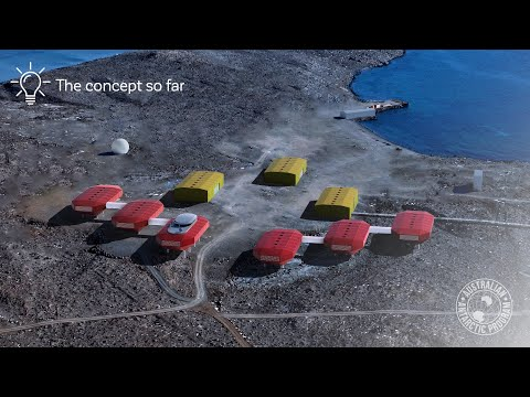 Modernising Australia's Antarctic research stations