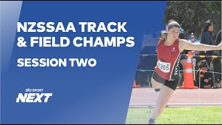 NZSSAA Track and Field Champs | Athletics | Sky Sport Next