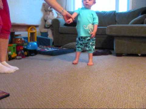 Jakob Standing Up Arthrogryposis