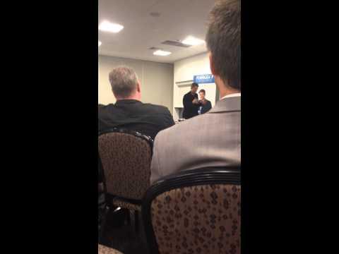 """Guest Speaker Simon Frayne """"I Am"""" talk - Motivation"""