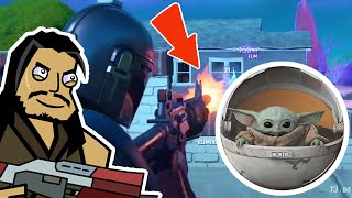 SALTY TOWERS & THE MANDALORIAN | Roach Plays Fortnite  (The Squad)