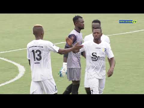 RESUME DE LA 15EME JOURNEE  USC BASSAM //SPORTING CLUB GAGNOA  AU STADE  ROBERT-CHAMPROUX 26/02/2018
