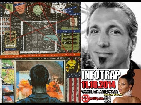 Infotrap 11.16.2014: Anthony Freda's 9/11 Truth art accepted in official museum