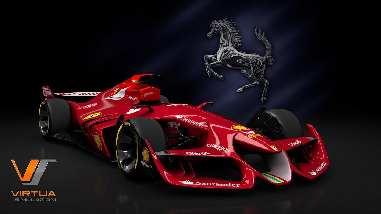 Racing Car Hd Wallpaper Free Download Exclusive Ferrari F1 Concept Assetto Corsa Youtube