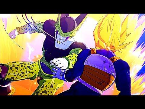 Super Saiyan Gohan Vs Cell Boss Fight Scene - Dragon Ball Z Kakarot