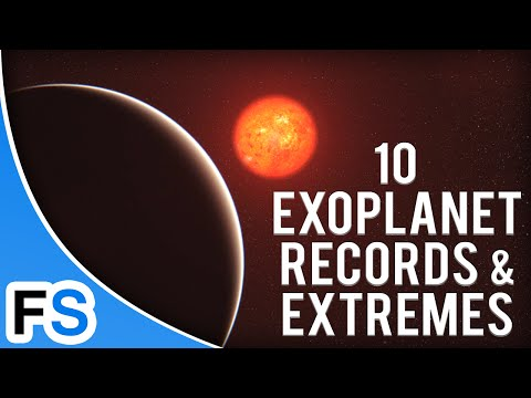10 Amazing Exoplanet Records and Extremes