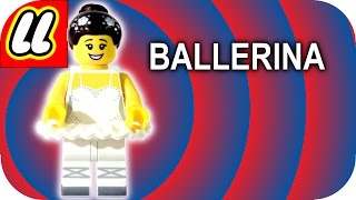 LEGO Ballerina Minifigure CMF Series 15 With how to find guide.