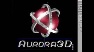 Create 3D Logo Animation by Aurora 3D Text Logo Maker