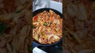 [아빠요리] 돼지고기죽순두루치기