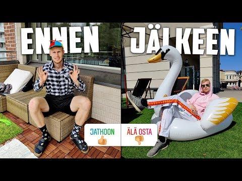 Annoin Katsojien Päättää Mitkä Vaatteet Ostan..