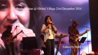 Cover images Sweta mohan@ Global Village Dec 23rd 2016- Innum Konjam Naeram  Naeram