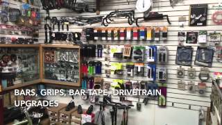 Shop Tour of Eddie's Bicycles and Hockey Equipment