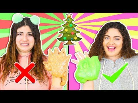 CHRISTMAS SLIME SMOOTHIE CHALLENGE   MAKING THE BEST CHRISTMAS SLIMES   Slimeatory #235