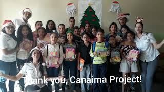 Agradecimiento a Canaima Projec - VEFG