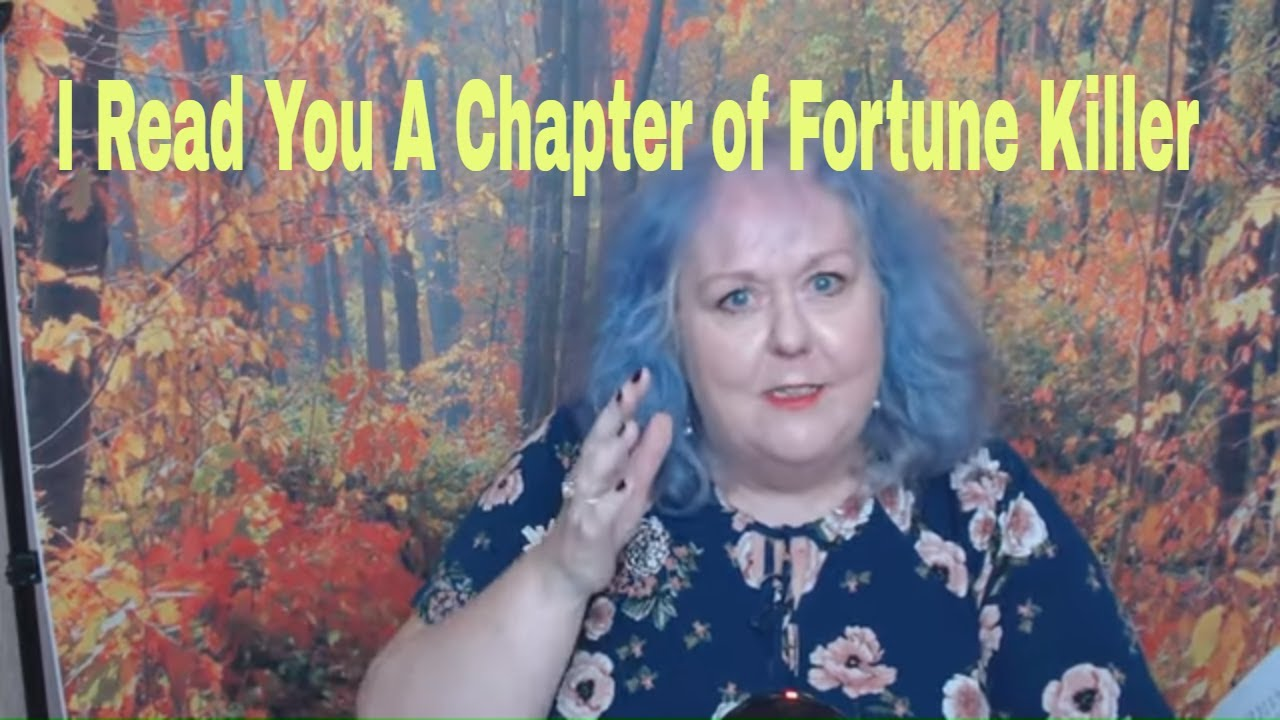 Fortune Killer| I Read A Chapter Of My Book | Spirit Guides Johnny Cash and Fred Astaire Guide Faith